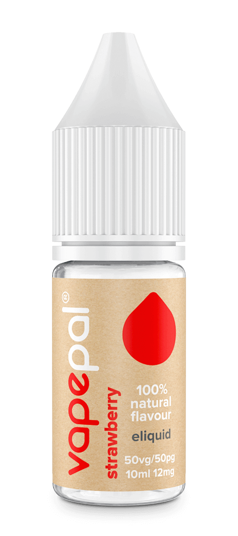 Strawberry vape juice. Made with 100% natural strawberry flavour